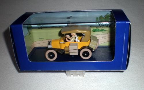 voiture de collection en m tal l 39 chelle 1 43 voiture miniature tintin au congo mod le. Black Bedroom Furniture Sets. Home Design Ideas