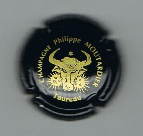 Capsule de champagne MOUTARDIER Philippe contour vert