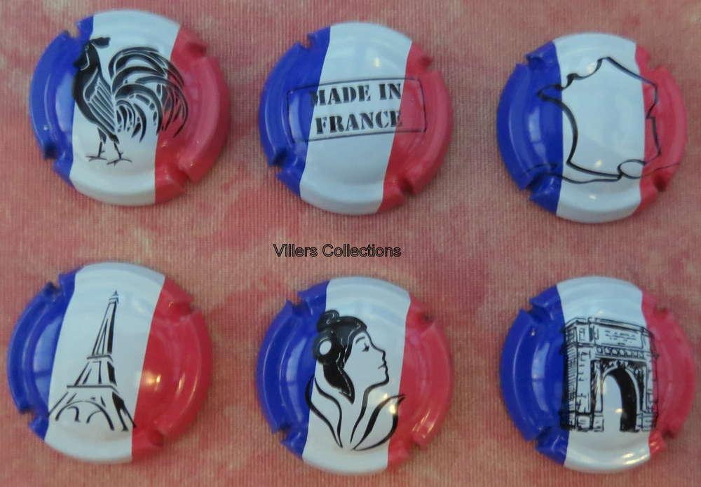 Evènements Série de 6 Capsules de champagne GENERIQUE News