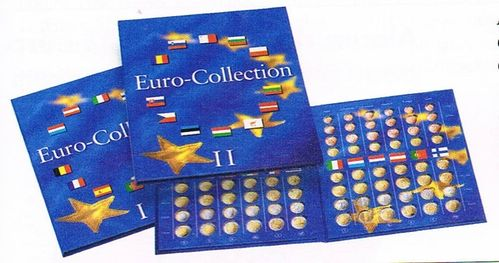 Albums Presso lot 2 collectors Euro Collection pour 24 pays