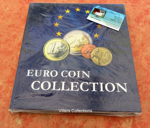Album Presso collection Euro Coin pour 26 séries d'euros