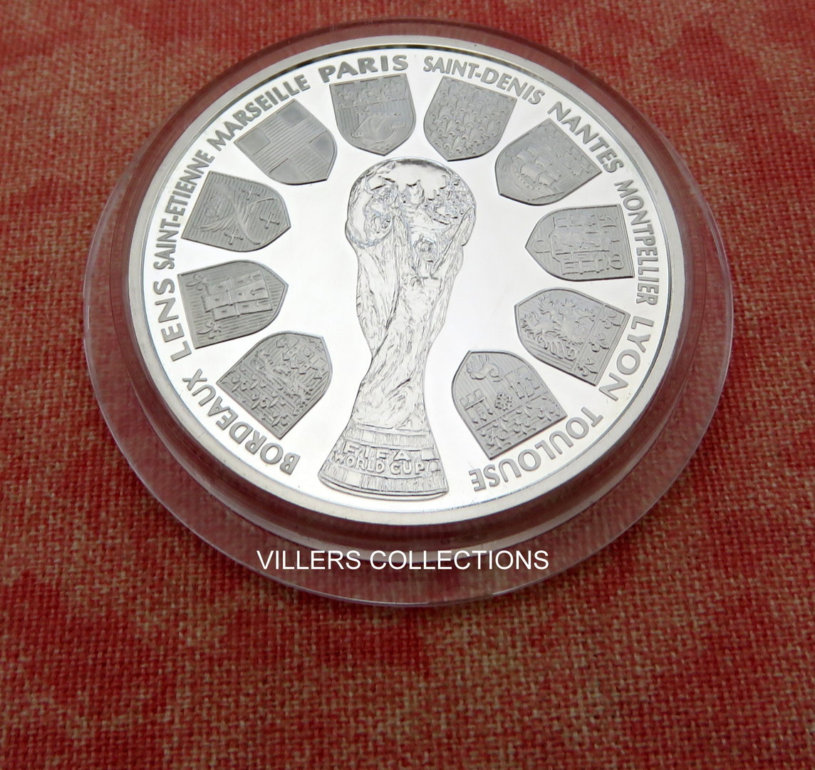 Pi ce 10 coupe du monde de football 1998 villers collections - Coupe a 10 euros grenoble ...