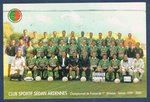 Carte postale Club Sportif Sedan Ardennes Championnat de France 2000